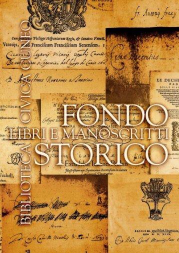 fondo storico - Comune di Cuneo