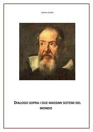 Dialogo sopra i due massimi sistemi dell'universo - Ousia.it