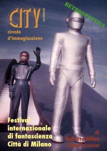 Festival del cinema di sf 1982/84 - club City circolo d'immaginazione