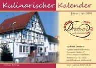 1 Stunde - Gasthaus Driehorst