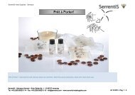 Serrentis Hotel Supplies - Hotel cosmetics – Our hotel guest amenities line Prêt à Porter!