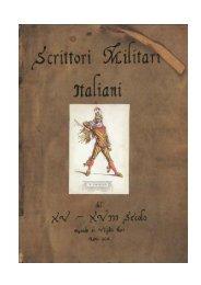 Scrittori Militari Italiani intero 19 febbraio 2011.pdf - Libreria Militare ...