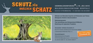 Download der Einladungskarte - Initiative Soonwald