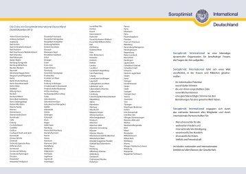 Flyer SI Deutschland: Stand 12-12 - Soroptimist International ...