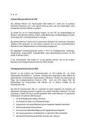 Psychiatrieplan Krefeld 2006 Auszug PSH - Psychosoziale Hilfe ...
