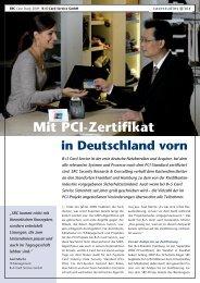 Mit PCI-Zertifikat - SRC GmbH
