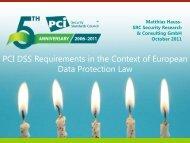 PCI DSS as - SRC GmbH
