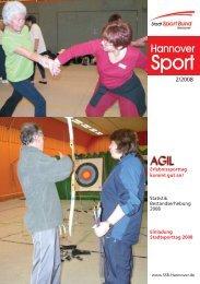 Aus dem SSB 2 - Stadtsportbund Hannover e.V.
