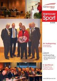 Aus dem SSB 8 - Stadtsportbund Hannover e.V.