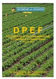 DPEF 2003 - Regione Veneto