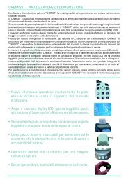 CHEMIST - ANALIZZATORE DI COMBUSTIONE - GEASS