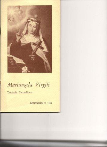 Mariangela Virgili Terziaria Carmelitana - Associazione Culturale ...
