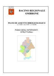 BACINO REGIONALE OMBRONE Ambito ... - Regione Toscana