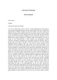 Giovanni Crisostomo, Sul sacerdozio - Roberto Nardin