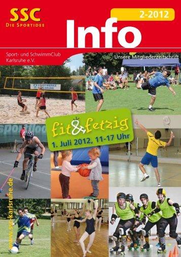 Info2-2012 - Sport und Schwimmclub Karlsruhe eV