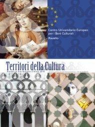Centro Universitario Europeo per i Beni Culturali ... - QuotidianoArte