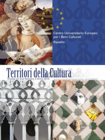 Centro Universitario Europeo per i Beni Culturali ... - QuotidianoArte