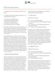DFÜ-Verfahrensbeschreibung - Bank für Sozialwirtschaft