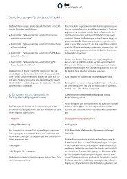 A. Zahlungen mittels Lastschrift im Einzugsermächtigungsverfahren ...