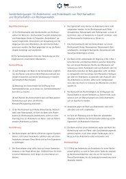 Sonderbedingungen für Anderkonten und Anderdepots von ...