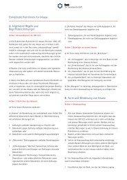 Einheitliche Richtlinien für Inkassi