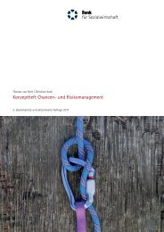 Konzeptheft - Bank für Sozialwirtschaft