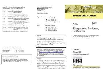 VWA_Faltblatt 5954-0.indd - Sächsischer Städte