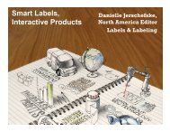 Smart Labels, Discover a world of label Interactive Products opportunities