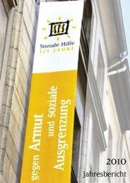 SozHilf Jahresbericht 2010 - Soziale Hilfe eV Kassel