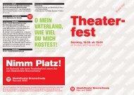 Nimm Platz! - Staatstheater Braunschweig