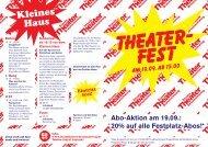Kleines Haus - Staatstheater Braunschweig