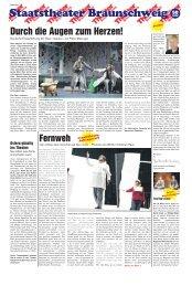Durch die Augen zum Herzen! - Staatstheater Braunschweig