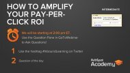 YOUR PAY-PER- CLICK ROI 1 2