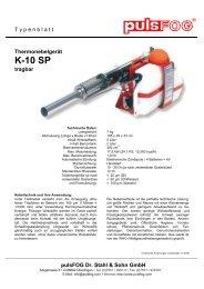 pulsFOG Typenblatt K-10 SP