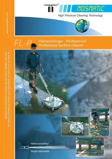 Flächenreiniger - Professionell Professional Surface Cleaner