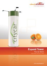 Expand Tower - Easydisplay.com
