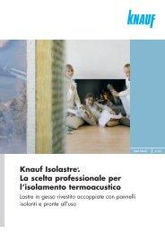 nuova gamma isolastre - Knauf