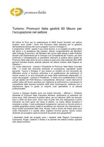 Lavoro e Sviluppo 4 - Promuovi Italia