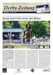 Derby-Zeitung - En Garde