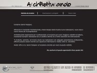 Notizie da Avalon Realizzazioni e progetti Nuove idee Carissimo ...