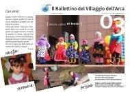 ARCA Bollettino 138 Marzo 2012 - Il Villaggio dell'Arca