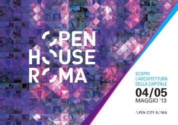 guida - Open House Roma
