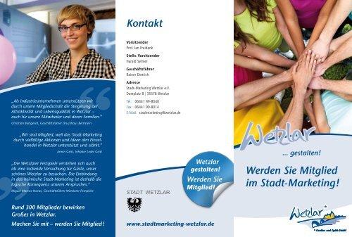 Werden Sie Mitglied! - Stadtmarketing Wetzlar