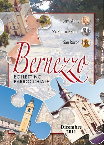Dicembre 2011 - Parrocchia Bernezzo