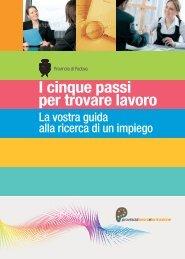 I cinque passi per trovare lavoro - Provincia di Padova