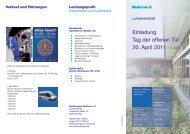 Einladung Tag der offenen Tür 20. April 2011 - Stadtmission ...