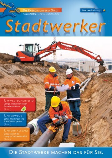 Stadtwerker 1/2013 - Stadtwerke Lemgo
