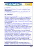 AGB Gastransport - STADTWERKE SANGERHAUSEN GmbH - Seite 5