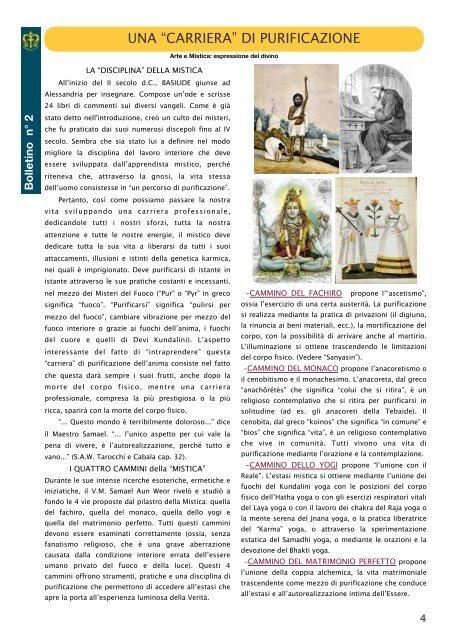 2-CASSIEN (I) Bolletino n°2 - Arte Mistica 2013