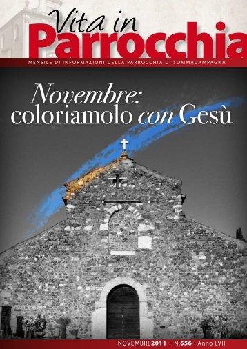 Novembre 2011.pdf - PARROCCHIA di Sommacampagna